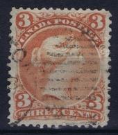 Canada: 1868  SG Nr 47  Used - Oblitérés