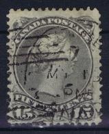 Canada: 1868  SG Nr 61 B Used - Oblitérés