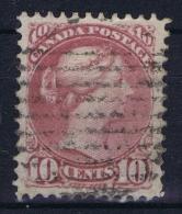 Canada: 1873  SG Nr 100  Used  Deep Lilac Magneta - Oblitérés