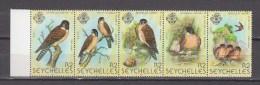 Seychelles 1980,5V In Strip,birds,vogels,vögel,oiseaux,pajaros,uccelli,aves,MNH/Postfris(A2858) - Unclassified