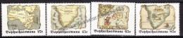 South Africa - Afrique Du Sud - Bophuthatswana 1992 Yvert 273 - 76, Ancient African Maps - MNH - Südafrika (1961-...)