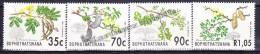 South Africa - Afrique Du Sud - Bophuthatswana 1992 Yvert 281 - 84, Flowers, Acacia - MNH - Südafrika (1961-...)