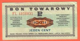 POLOGNE - BON TOWAROWY De 1969 Banque Polska Kasa Opieki - Pologne