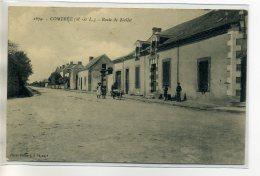 49 COMBREE Carte RARE Lavandiere Et Sa Brouette Anim Route De Noellet 1910   / D15  -2016 - France