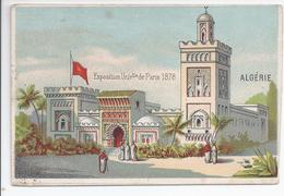Chromo Exposition Universelle De Paris 1878 - Algerie - R5035 - Autres