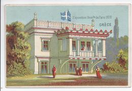 Chromo Exposition Universelle De Paris 1878 - Grece - R5034 - Autres