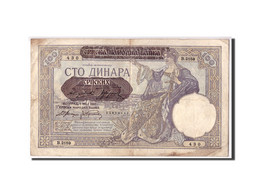 Serbie, 100 Dinara, 1941, KM:23, 1941-05-01, TB - Serbie