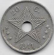 20 Centimes 1911 - 1910-1934: Albert I