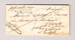 Österreich NÖ WIESELBURG 29.8.1841 Vorphila Brief Nach Papels GR Rückseitig Transit-O Chur - Österreich