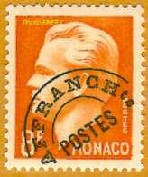 Monaco **LUXE 1943 Préoblitéré 10 - Precancels