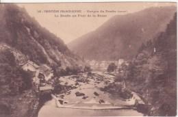 GORGES-du-DOUBS: Le Doubs Au Pont De La Rasse - Zonder Classificatie