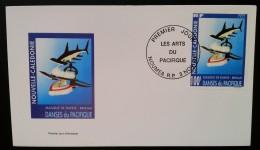 NOUVELLE-CALEDONIE - FDC 1997 - YT N°742 - LES ARTS DU PACIFIQUE / MASQUE DE DANSE - NOUMEA - FDC