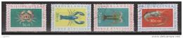 Nieuw Guinea New Guinea 78 - 81 Used ; Sociale Zorg, Schaaldieren 1962 - Niederländisch-Neuguinea