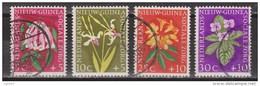 Nederlands Nieuw Guinea Dutch New Guinea 57 - 60 Used ; Bloemen, Flowers, Fleurs, Flores, 1959 - Niederländisch-Neuguinea