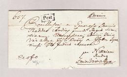 Ungarn PEST Im Kasten 21.3.1848 Vorphila Brief - ...-1867 Vorphilatelie