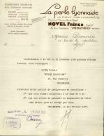 Thématique « POMPES FUNEBRES » - Document Commercial (petit Format) à Entête De Lettre – A Voir - N° 19057 - Old Professions