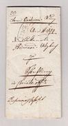 Österreich OÖ LINZ Im Kreis12.1.1832 Vorphila Brief - Österreich