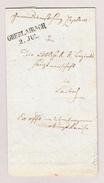 Slowenien OBERLAIBACH 2 Jul 2-Kreis-Stempel 1853 Vorphila Brief Nach Laibach - Slovénie