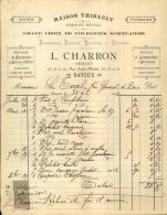 Thématique « POMPES FUNEBRES » - Document Commercial (petit Format) à Entête De Lettre – A Voir - N° 19061 - Old Professions
