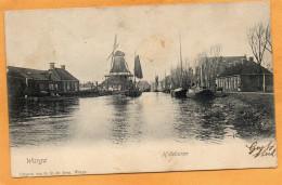 Wergea Warga 1905 Postcard Mailed - Niederlande