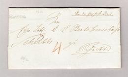 Österreich Post Mölk Schreibschrift Stempel (Melk Bei St Pölten) 1823 Vorphila Brief - Österreich