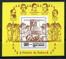 Guinea Bissau, 1983, Chess, MNH, Michel Block 250 - Guinea-Bissau