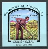 Guinea Bissau, 1983, World Food Day, FAO, United Nations, MNH, Michel Block 256 - Guinea-Bissau