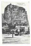 CASTELLANE  (cpa 04) La Place De La Grave Et Le Roc  -   - L 1 - Castellane