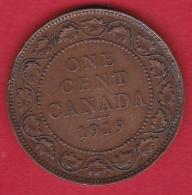 Canada - 1 Cent - 1919 - Canada
