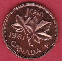 Canada - 1 Cent - 1961 - Canada