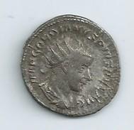 Monnaie Romaine Gordien Le Pieux Auguste 238  244 Antoninien D Argent - …-1861 : Voor De Hereniging