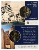 MALTA 2 Euro Commemorative 2016 - Ggantija - COINCARD - Malta