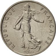 France, Semeuse, 1/2 Franc, 1977, Paris, SPL, Nickel, KM:931.1, Gadoury:429 - G. 50 Céntimos