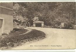 Ain-Route De La Faucille-Fontaine Napoléon-N°2184-Scan Recto-Verso- - France