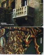 SAN MARINO  PHONECARD VERONAFIL-RSM 45,46-15000pcs-5/11/99-MINT - San Marino