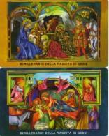 SAN MARINO  PHONECARD ANNIVERSARY OF CHRIST BORN-RSM 51,52-13000pcs-5/5/00-MINT - San Marino