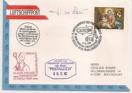 LUFTSCHIFFPOST 20 JAHRE NIKOLAUS. 1992