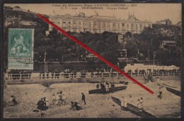 76 SAINTE-ADRESSE -- Palais Des Ministéres Belges à Sainte-Adresse _ 1914 _ Groupe Dufayel _ (Timbre Belges) - Sainte Adresse