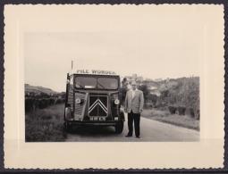 CAMION CITROEN TYPE H  PILE WONDER -  AUTHENTIQUE PHOTO  11 X 8) - Camion, Tir