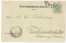 TRIEST 1907. Correspondenz Carte. - Cartas