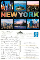 New York City NYC, New York, United States US Postcard Posted 2000 Stamp - New York City