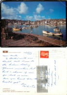 Harbour, St Ives, Cornwall, England Postcard Posted 1989 Stamp - St.Ives