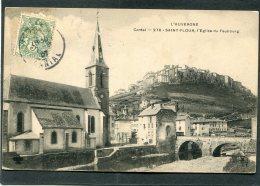CPA - SAINT FLOUR - L'Eglise Du Faubourg - Saint Flour
