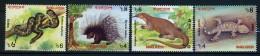 2000 - BANGLADESH -  Mi.  Nr. 725/728 -  NH - ( **) - (G-EA-371689.7) - Bangladesh