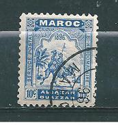 Poste Locale Alcazar A Ouezzan N°3  Oblitéré  Cote 60€ - Maroc (1956-...)