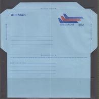 Singapore 1978 Aerogramme(Unused) - Singapur (1959-...)