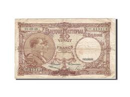 Belgique, 20 Francs, 1948, KM:116, 1948-09-01, B - [ 6] Treasury