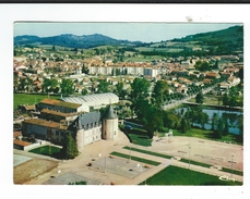 CPM   71 Chauffailles Vue Aérienne Sur Le Chateau Circulé 1982 TBE Combier - Francia