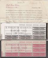 (Fb).Repubblica.Pacchi In Concessione.1968.Blocco Angolare Di 5 Del 150 Lire Fluorescente.Certif. Diena (348-16) - Colis-concession