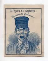 Chromo - Au Louvre, Th. Martin, Vitry Le François - Le Voyou & Le Gendarme: Trouvez Le Gendarme? - Andere
